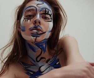 art, face, and beauty image