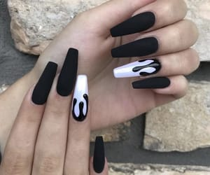 acrylic, nails, and professional image
