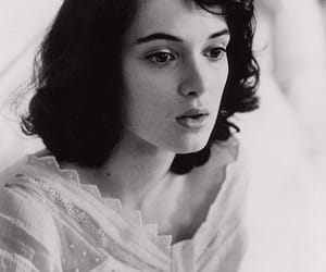 beauty, brunette, and winona ryder image