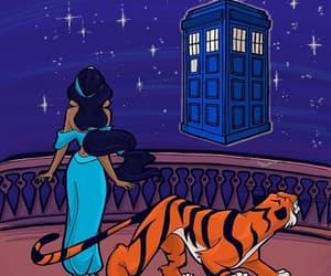 doctor who, disney, and princess image