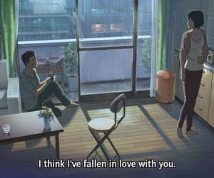 anime, love, and the garden of words image