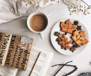 aesthetic, coffee, and autumn image