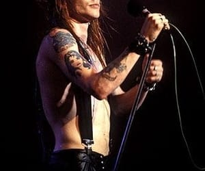 axl rose, band, and boy image