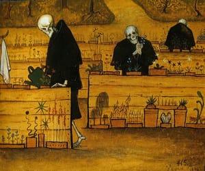 art, death, and hugo simberg image