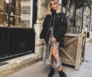 blogger, bomber, and fashion image