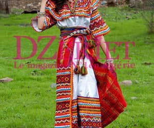 dress, traditional, and kabyle image
