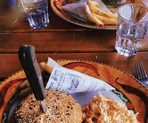burger, food, and good image