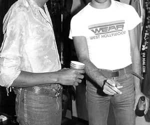 Freddie Mercury, michael jackson, and Queen image