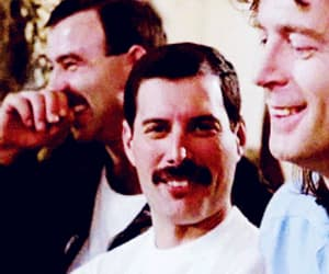 Freddie Mercury, Queen, and gif image