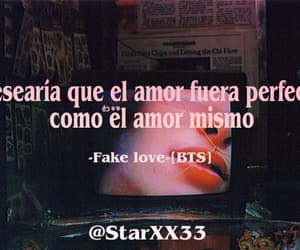 frases, kpop, and fake love image