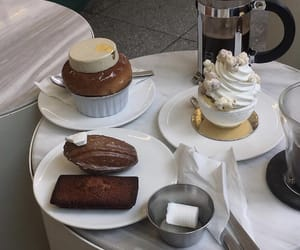 aesthetic, cream, and pastries image