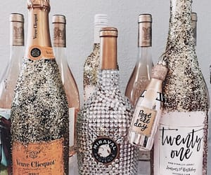 alcohol, champagne, and drinks image