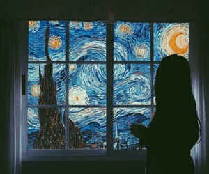 art, tumblr, and van gogh image