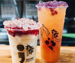 aesthetic, asian, and boba tea image