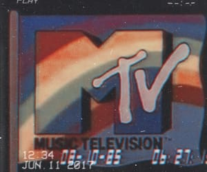 aesthetic, mtv, and vintage image