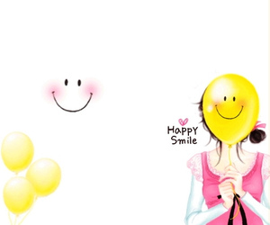happy, smile, and cute image