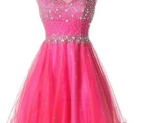 pretty prom dress and short homecoming dress image