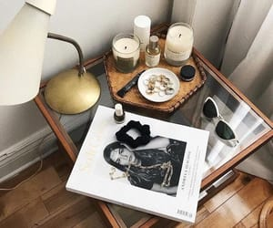 sunglasses, candles, and fashion image