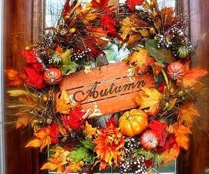 autumn wreath image