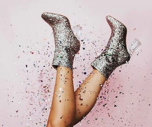 glitter and shoes image