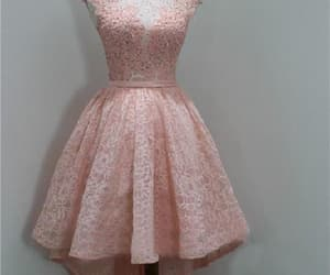 a-line homecoming dresses, homecoming dress, and homecoming dresses pink image
