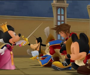 game, donald, and kingdom hearts image