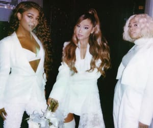 ariana grande, white, and victoria monet image