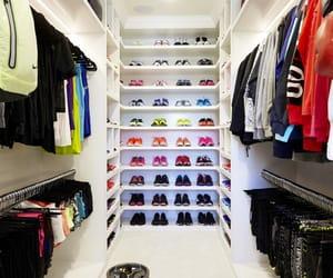 closet, fitness, and khloe kardashian image