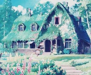 anime, house, and beautiful image