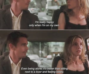 love, quotes, and before sunset image