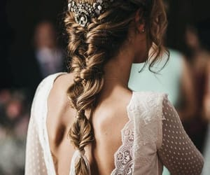 hairstyle, photo, and wedding image
