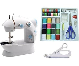 accessories, set, and sewing machine image