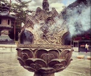 asia, old photo, and smoke image