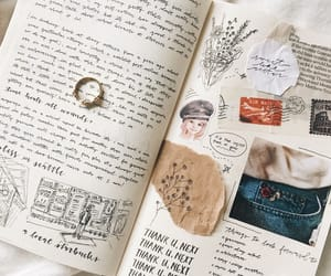 bullet journal, aesthetic, and journal image