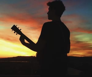 shawn mendes, sunset, and boy image