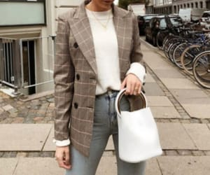 autumn, bags, and blazer image