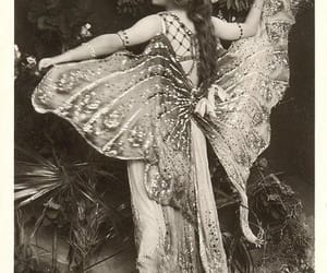 vintage, wings, and butterfly image