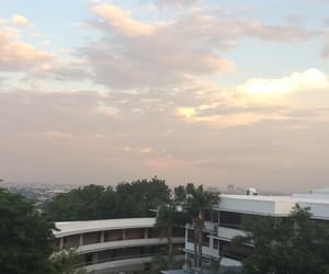 clouds, scenery, and usc image