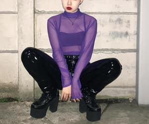 edgy, fashion, and girl image