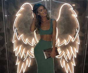 girl, angel, and outfit image