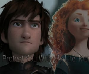 brave, how to train your dragon, and disney image