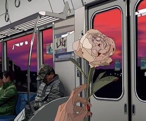 aesthetic, subway, and art image