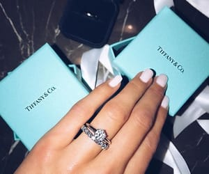 tiffany, diamond, and ring image