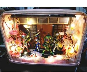 bag, diorama, and super sentai image