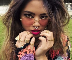 jewelry, style, and glasses image
