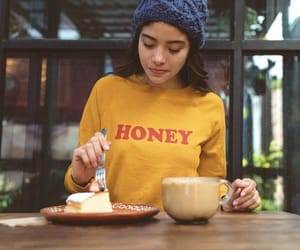 etsy, yellow sweatshirt, and crewneck sweatshirt image