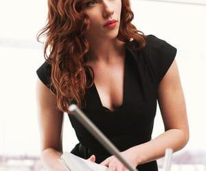 Scarlett Johansson, black widow, and natasha romanoff image