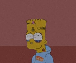 simpson, wallpaper, and aethetic image