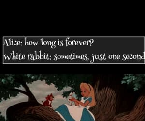 alice, alice in the wonderland, and rabbit image