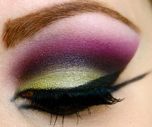 eyes, make up, and eye image